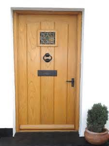 Hardwood Exterior Doors Front Doors Enchanting Oak Front Doors And Frame