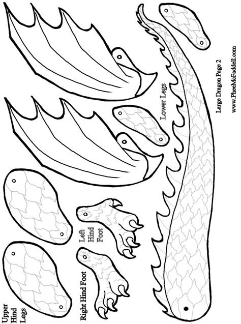 printable dragon templates 6 best images of dragon template printable simple