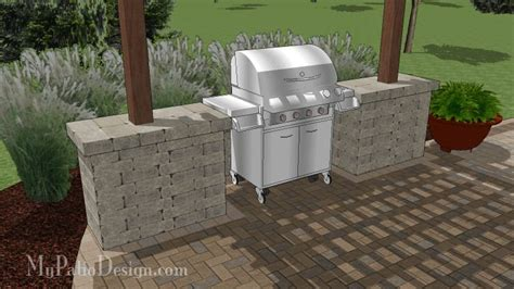 gorgeous grill station for grills up to 63 wide easy