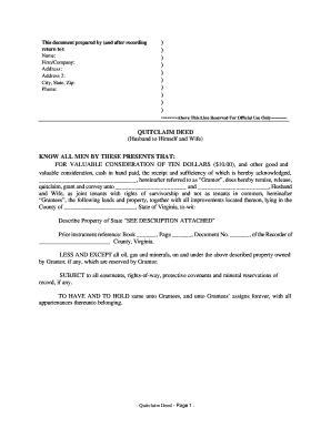 free printable quit claim deed texas quit claim deed form
