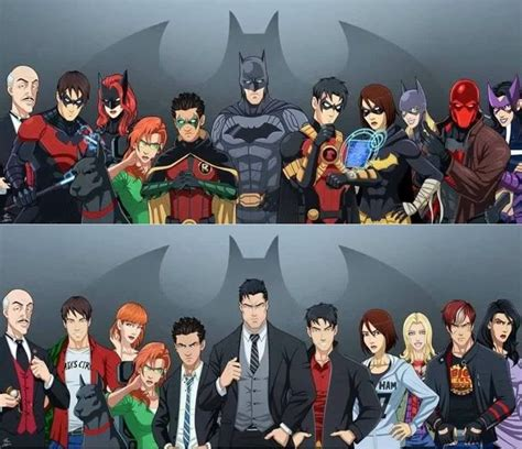 Batman Family best 25 batman family ideas on bat family