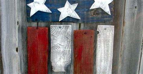 presidents day decorating ideas rustic reclaimed wood americana flag fourth of july memorial day president s day decor 35 00