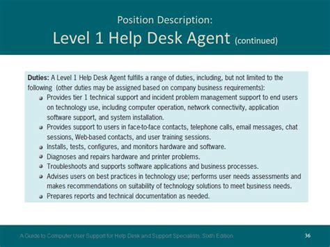 Duties Of Help Desk Support by Help Desk Level 1 Description Desk Design Ideas