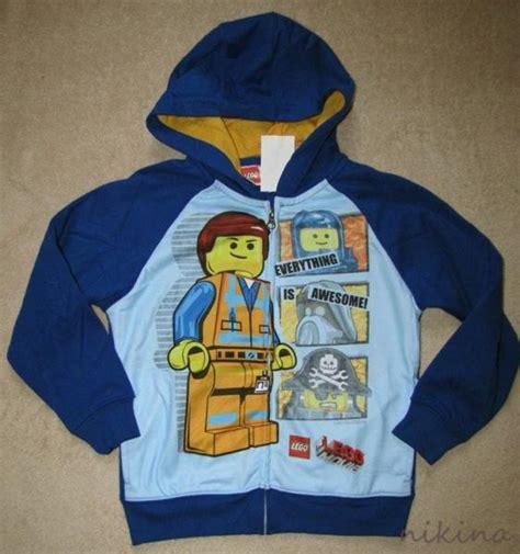 Hoodie Zipper Sweater Lego Premium6 lego blue zipper hoodie sweater shirt jacket boys sz 5 6 ebay