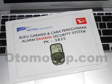 Remote Alarm Mobil Avanza manual remote alarm pintu mobil avanza xenia lama otomotrip
