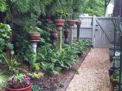 small spaces simple and low garden and patio simple low maintenance front side yard