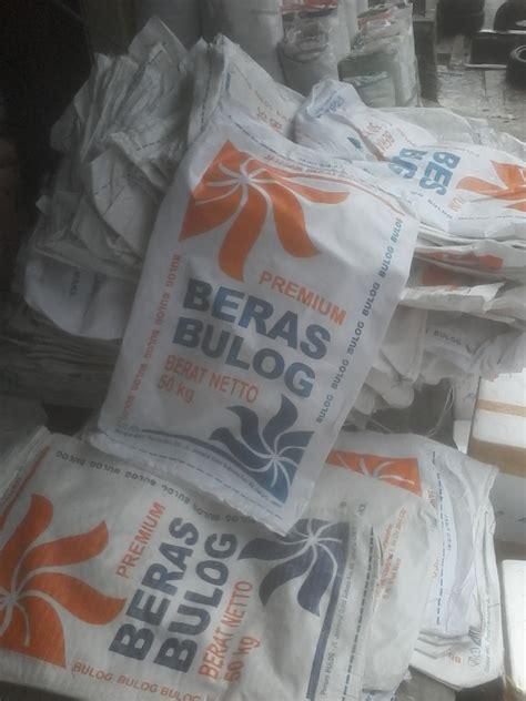 Jual Karung Goni Eceran fatimah karung karung beras bulog 50kg