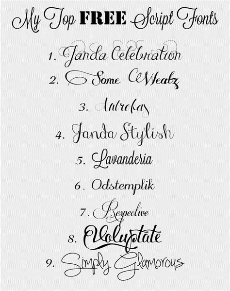 tattoo fonts that look like handwriting 6 best images of handwritten fonts girly cursive