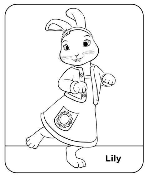 Peter Rabbit Coloring Pages Nick Jr | peter rabbit nick jr coloring pages coloring pages