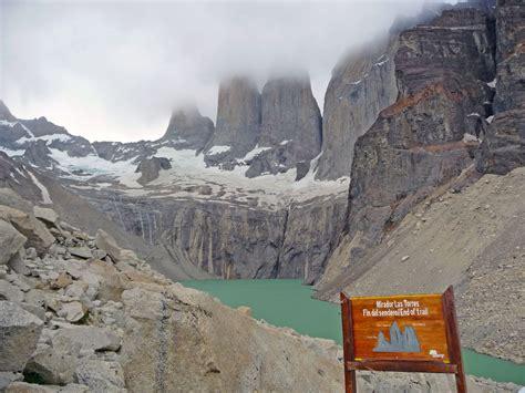 mirador las torres hiking the w trek in torres del paine in patagonia