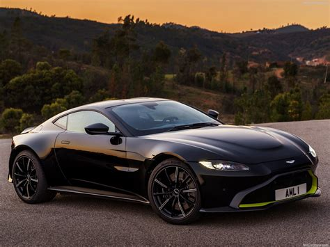 2019 Aston Vantage by Aston Martin Vantage Onyx Black 2019 Picture 2 Of 130