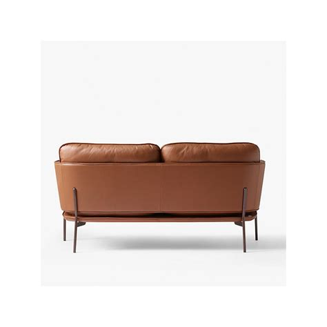 elmo sofa tradition cloud two seater sofa elmo brown leather