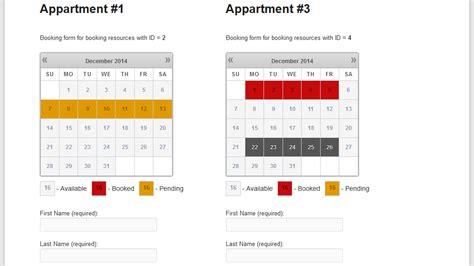 Booking Calendar Versions Overview Wp Booking Calendar Personal Business