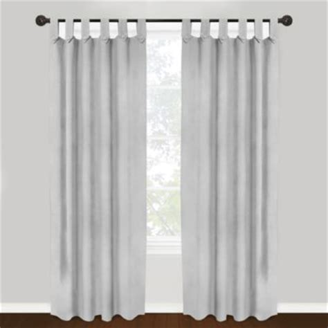 how to hang tab top curtains buy cotton tab top curtains from bed bath beyond