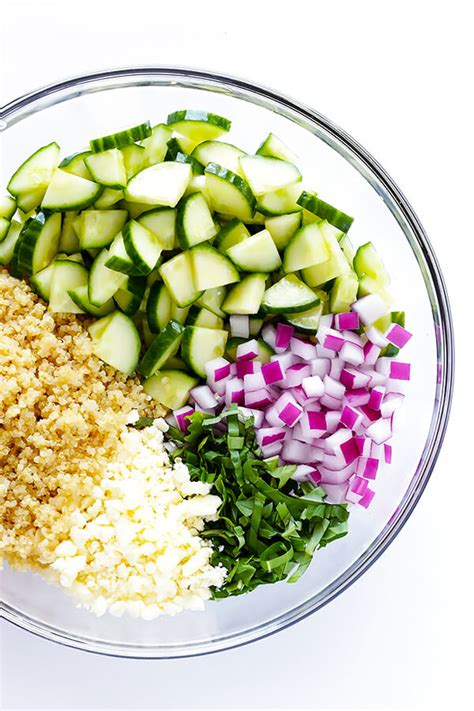 quinoa salad recipes cucumber quinoa salad gimme some oven