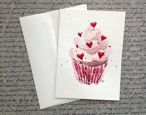 Watercolor Birthday Card 1000 Ideas About Watercolor Heart On Pinterest