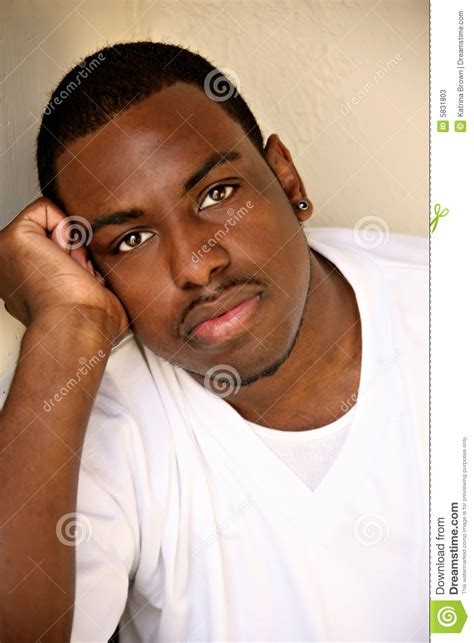 african american african american male youth portrait stock image image