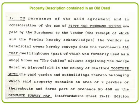Property Deed Search By Address Using The Boundary Search