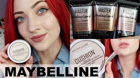 Make Up Maybelline Indonesia new maybelline makeup 2017 try on impressions