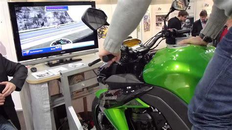 Motorrad Simulation by Motorcycle Driving Simulator Kawasaki Z1000 Youtube