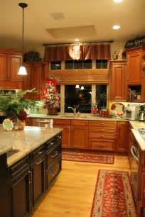 Decorating Ideas For Kitchen by Unique Kitchen Decorating Ideas For Christmas Family