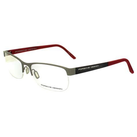 porsche design glass frame cheap porsche design p8242 glasses frames discounted