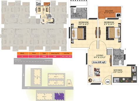 ideal homes floor plans 648 sq ft 2 bhk 2t apartment for sale in vijay raja ideal