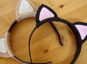 Bando Cat Ears Hairclipslucuterbarukerenputihmurah Eab301 craft idea cat ears headband
