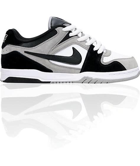 Nike Air Zoom 6 0 nike 6 0 air zoom oncore medium grey black white shoes