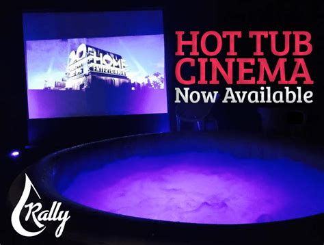 Bathtub Cinema by Outdoor Cinema For You Can Even Add A