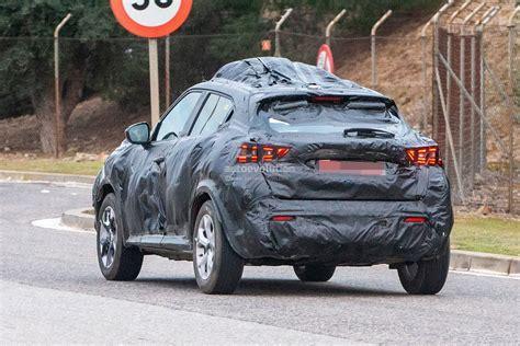 Nissan Juke 2020 Uk by 2020 Nissan Juke Spied In Europe Wrapped In A Lot Of