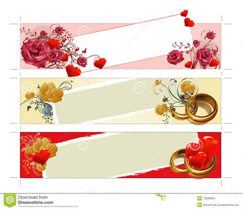Wedding Banner Price by Wedding Banners Stock Images Image 13090854