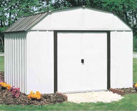 Metal Storage Sheds Kits by Concord 10 W X 14 D Arrow Metal Backyard Storage Shed Kit