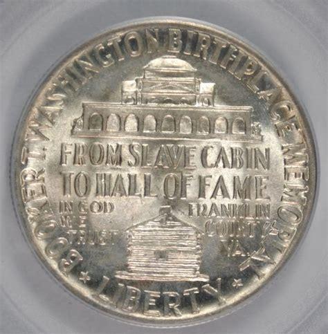 1946 booker t washington half dollar commemorative pcgs ms