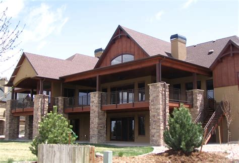 Mountain House Plans With Walkout Basement Mountain Ranch House Plans Mountain Lake