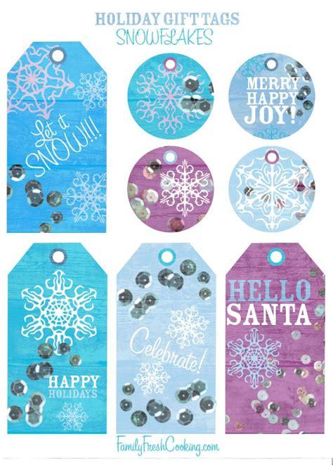 printable snowflake tags snowflakes free printable holiday gift tags marla meridith
