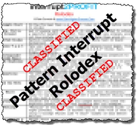 pattern interrupt in sales interrupt2profit ultimate pattern interrupt resource