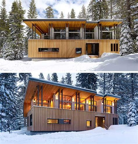 modern cabin designs suagr bowl cabin winter wonderland modern cabins