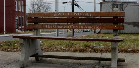 park bench baltimore not all park benches are created equal pics
