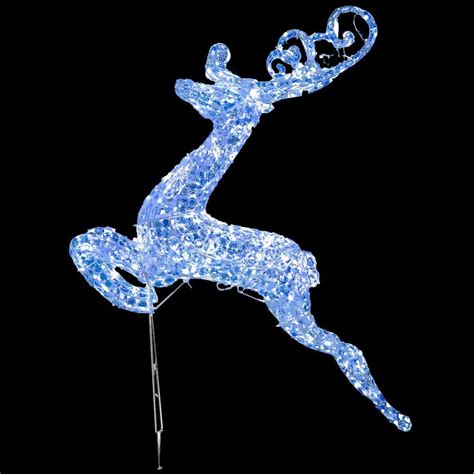 reindeer with lights national tree company 60 in reindeer decoration with led