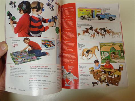 jc penney christmas catalog 2008 toys 192 pages of big