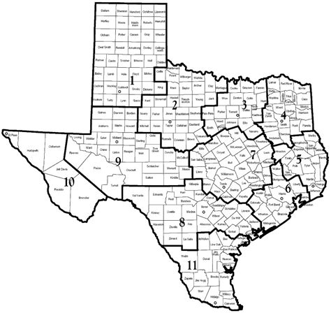 service county texas map dfps after care management service providers