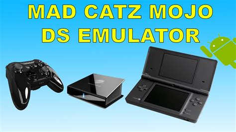 mojo console mad catz mojo android console running ds emulator