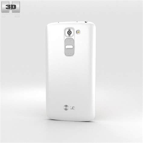 lg g2 mini lunar white 3d model humster3d