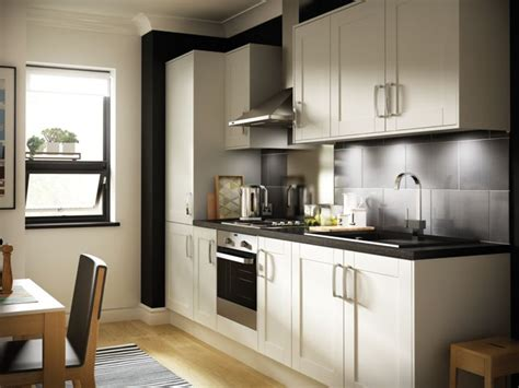 How To Paint Your Kitchen Cabinets White by Ohio Cream Kitchen Wickes Co Uk