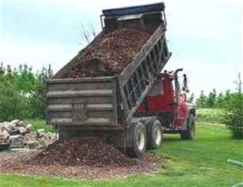 Landscape Rock Delivery Carroll County Mulch Delivery Firewood Landscaping
