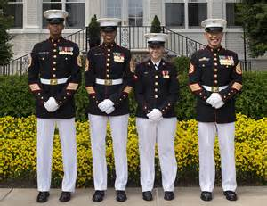 marine corps to expand testing of new female dress blue