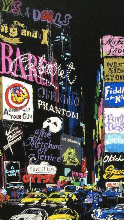 broadway backgrounds