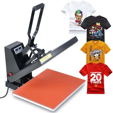 Mesin Heat print kaler cetakan baju beza cetakan heat press dan
