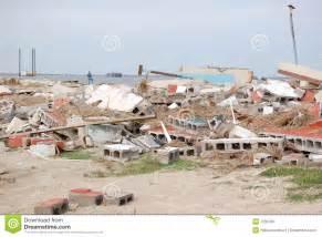 Beach House Building Plans hurricane damage royalty free stock image image 7236786